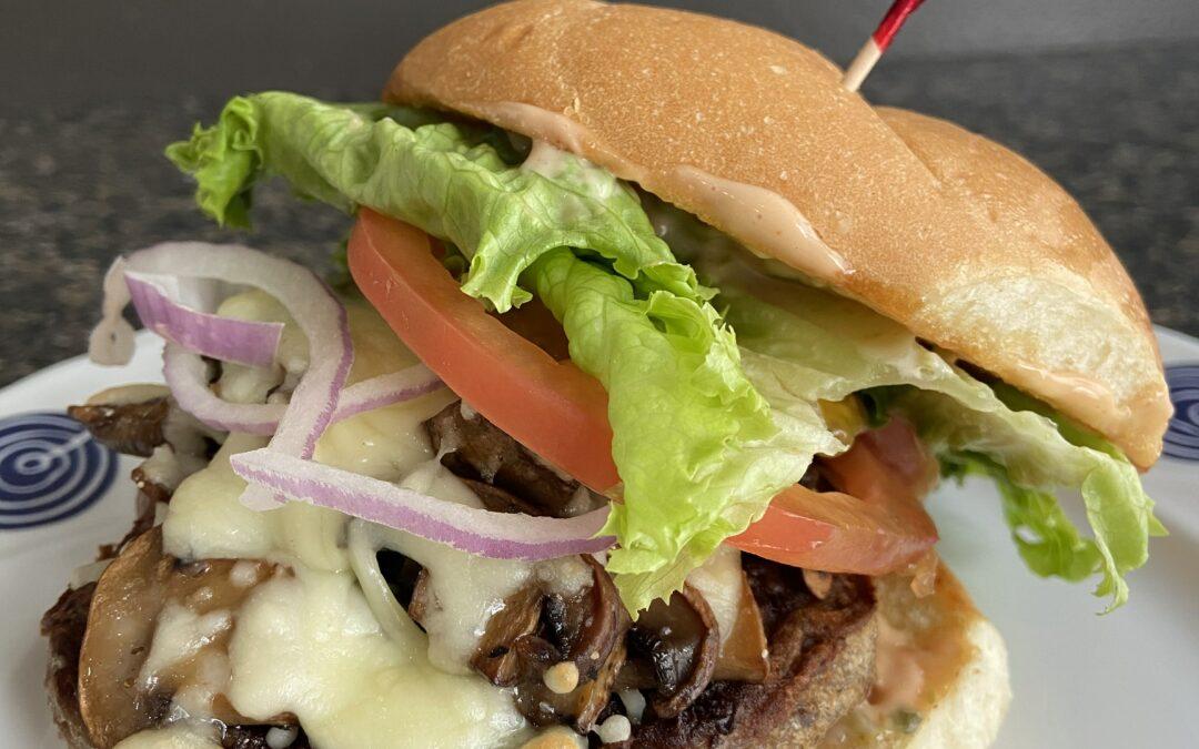 Mozza Mushroom Burger